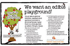 Edible Playground Campaign