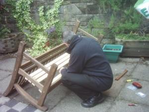 Repairing a Bench