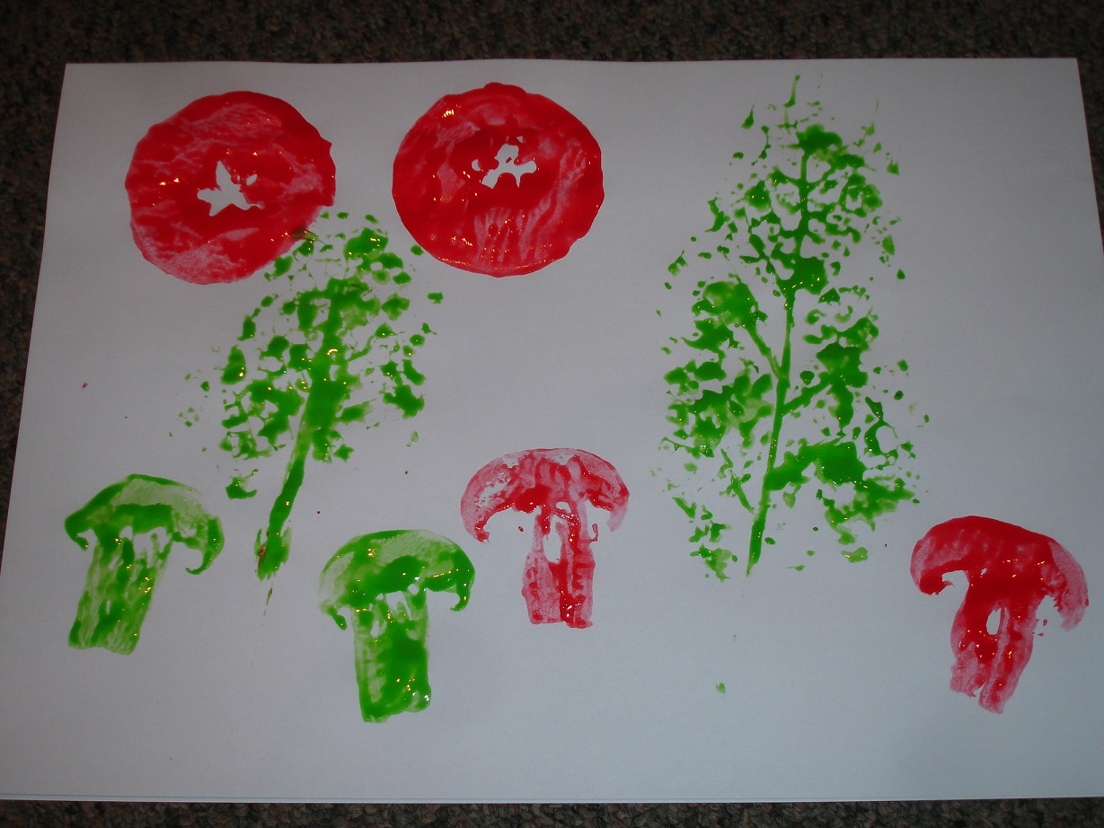 Vegetables Paintings For Kitchens