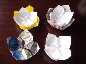 Paper Waterlily 7